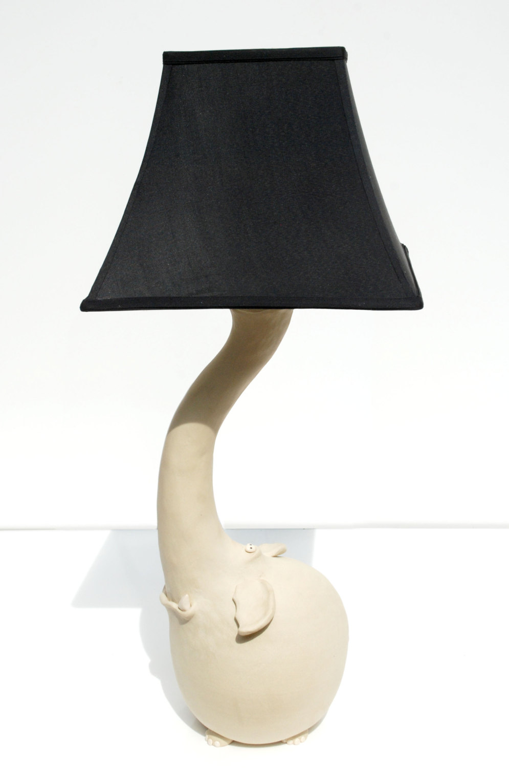 White Elephant Lamp