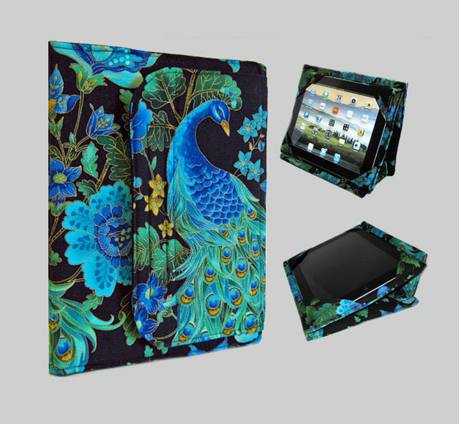 Blue iPad Sleeve